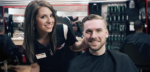Sport Clips Haircuts of Houston - Washington Heights​ stylist hair cut